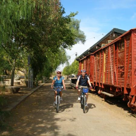 Estación de luque, ruta del Califato en bici