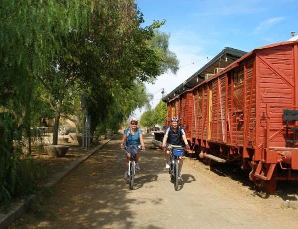 Estación de luque, ruta del Califato en bicicleta