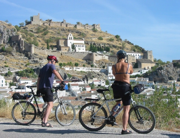 Ruta del Califato en bicicleta, Moclín