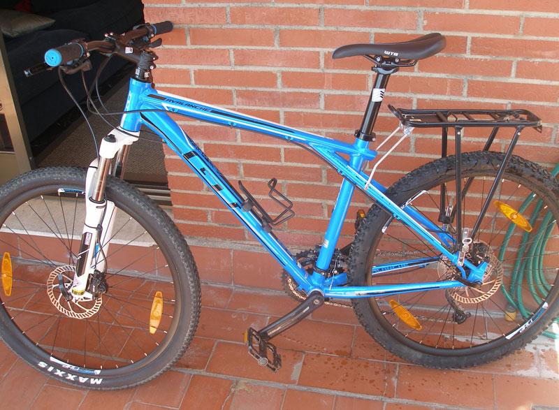 Tipo de bicicleta para los viajes en Andalucía