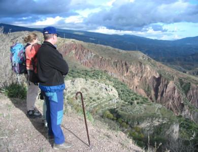 Al Sur de Granada (Alpujarra), guiado a pie