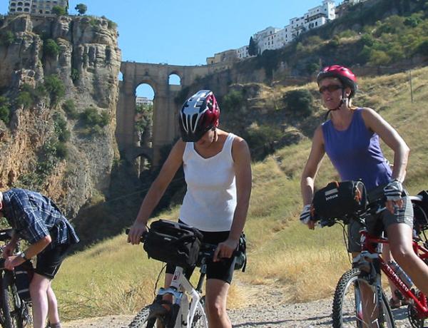 Almorávides en bici, Ronda