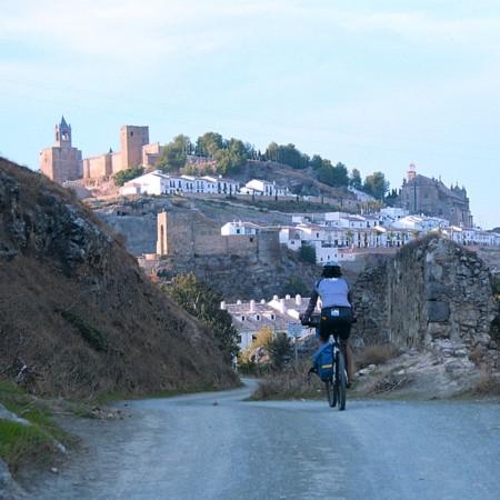 Ruta de los Almorávides en bici: LLegando a Antequera por la