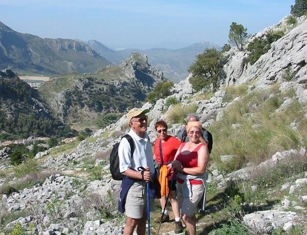 Caminando por la Sierra de Grazalema