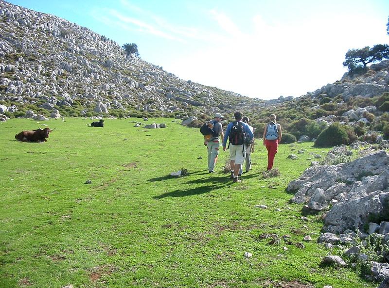 Caminando de Grazalema a Tarifa