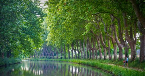 Francia, el Canal del Midi en bicicleta