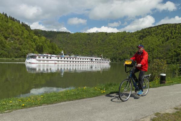 Danubio en barco-bici barco Normandie