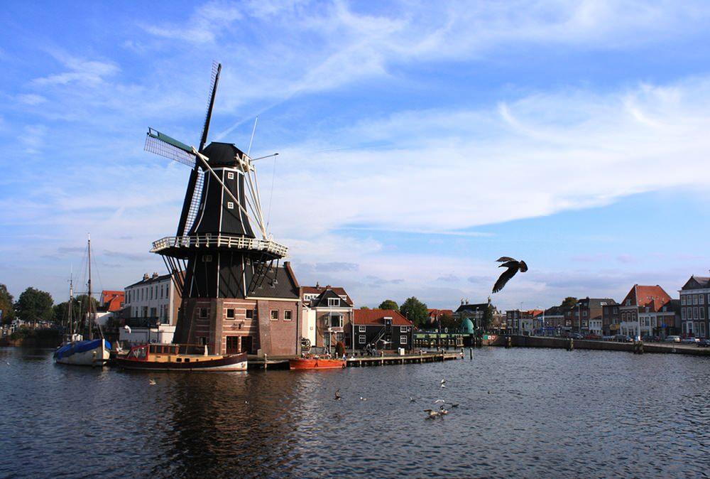 El corazón verde de Holanda en barco-bici