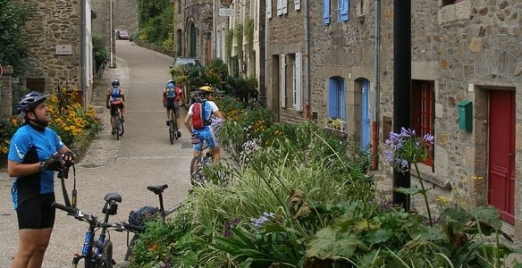 Bretaña en bicicleta con niños
