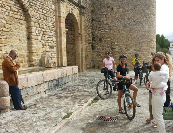 Ciclistas en Ronda