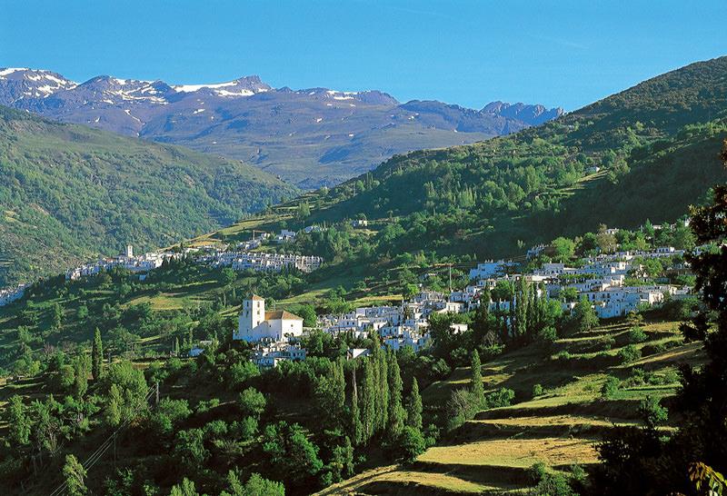 Alpujarra, Barranco del Poqueira, Cumbres de Sierra Nevada