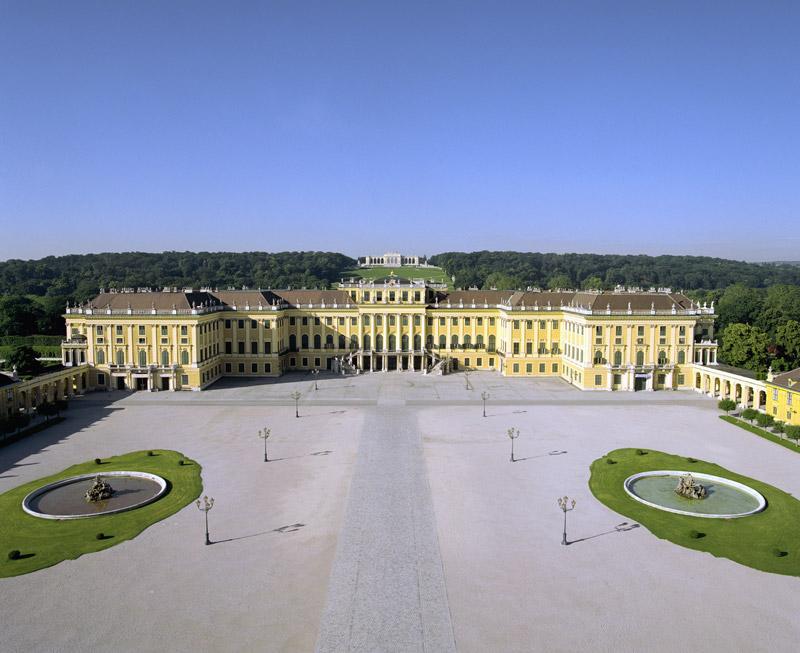 Viena, castillo Schönbrunn
