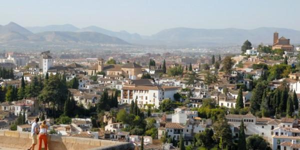 Granada, llegada y Alhambra