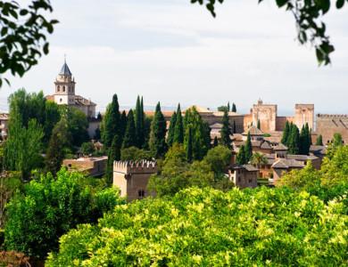 Excursión a pie desde Granada: Sacromonte y Albaicín por Valparaíso