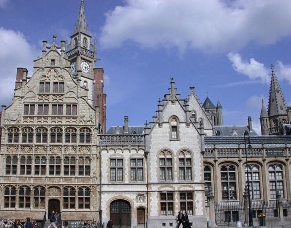 Brujas-Amsterdam en barco-bici: Amberes