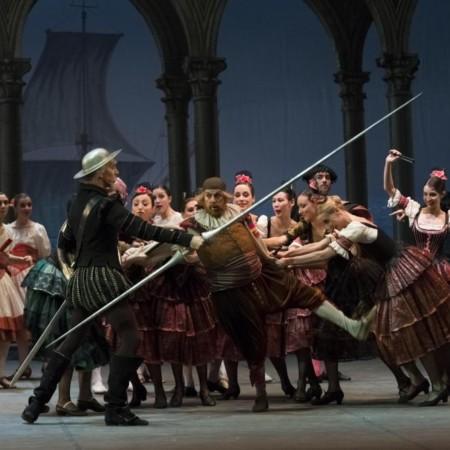 Ballet del teatro de la Opera de Roma