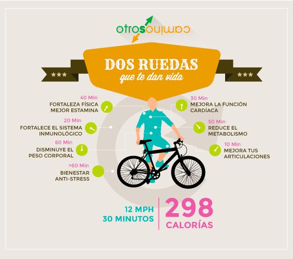 infografia Bicicleta