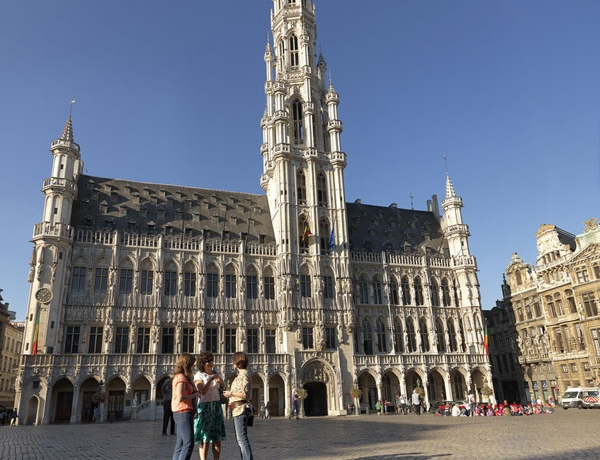 Bélgica; de Bruselas a Brujas en bicicleta
