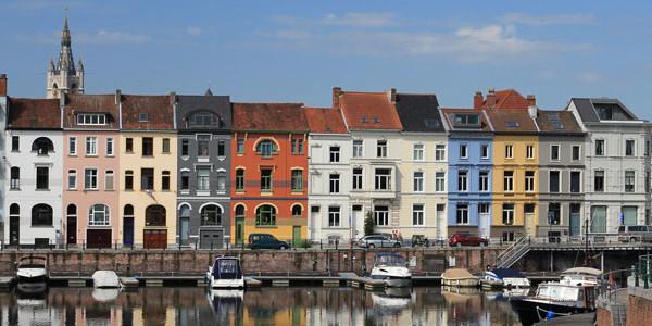 Gante – Brujas por  Oost-Vlaanderen (40 Km)