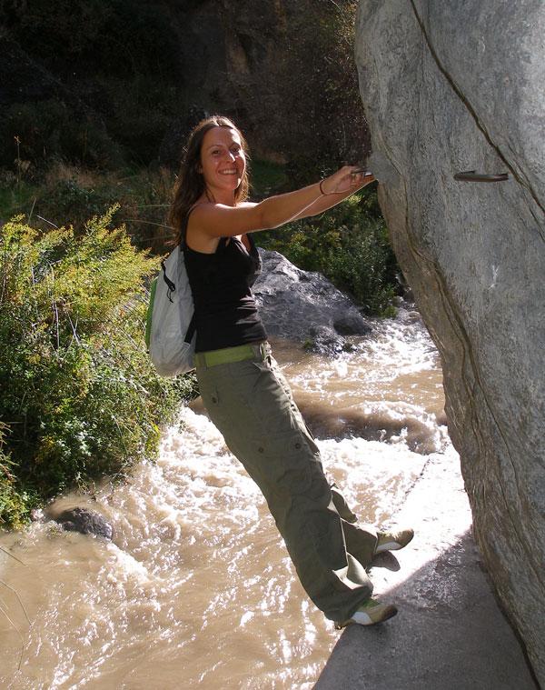 Los Cahorros Río Monachil