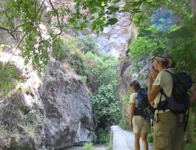 Excursión a pie, Los Cahorros, Granada (Sierra Nevada)