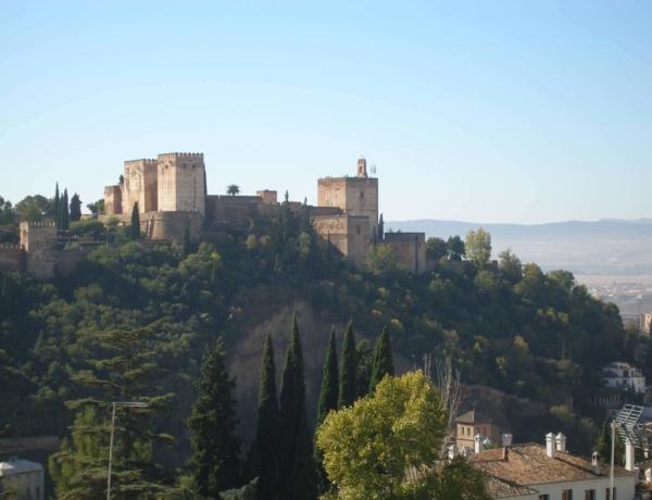 Granada, vista de la Alhambra