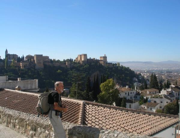 Vista de la Alhambra desde el Albaicin