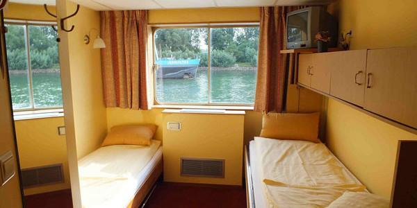 Passau, llegada al barco