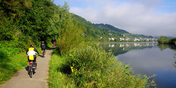 Bernkastel-Kues – Piesport – Mehring (46 km en bici)
