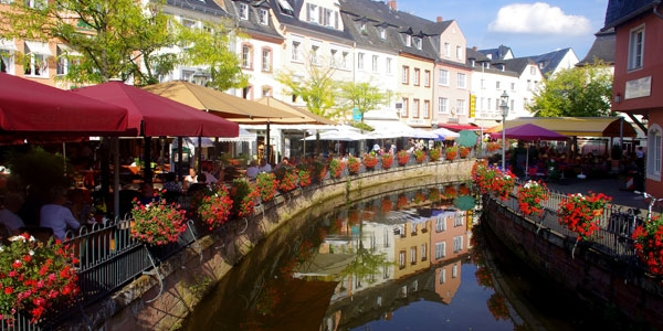 Trier – Saarburg (26-64 km en bici)