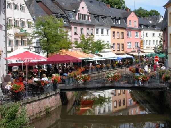 Mosela en barco-bici: Saarburg-Buttermarkt