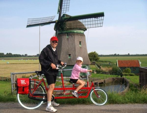 family tandem windmill