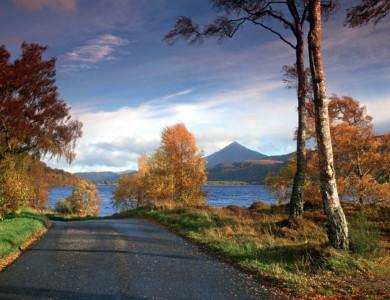 Escocia: «Lochs» y castillos en bici
