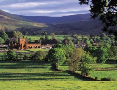 """Escocia: senderismo por Abadías y """"Borders"""""""