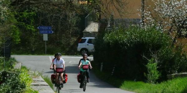 Florencia-Greve in Chianti (40 Km)