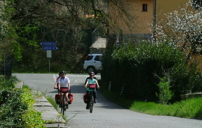 Italia (Toscana): En bici de Florencia a Pisa