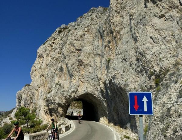 Carretera de la Cabra hacia Almuñecar