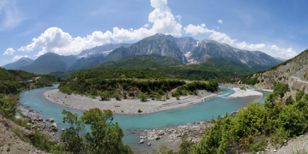 Día 2: QafeThane a Pogradec (40 Km, 62 m ascenso)
