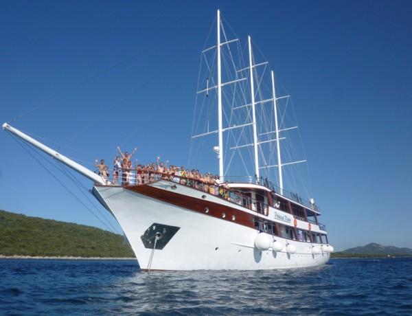 Crucero multi-aventura en Croacia para familias: barco-bici, senderismo, rafting…