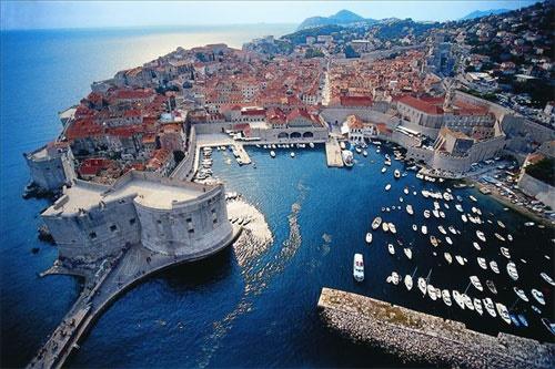 Croacia barco bici