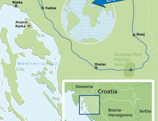 Croacia: recorre en bici sus Parques Nacionales