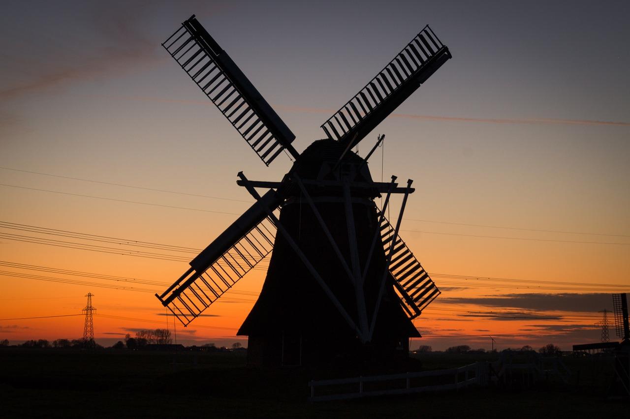 Molinos De Viento Países Bajos