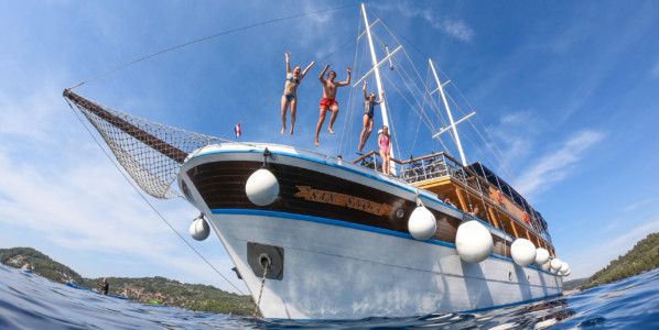Croacia en barco y bici