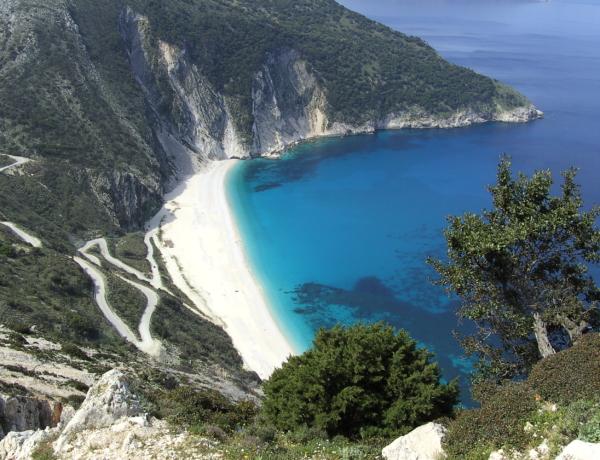 Playa de Myrtos, Isla Cephalonia (Grecia)