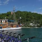 Día 2 Isla de Corfú – Sivota – Parga – Isla de Lefkas (aprox. 28 km)